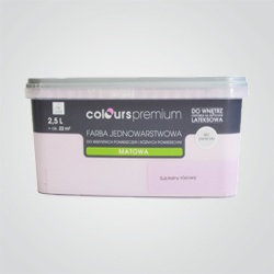Farba Colours Premium subtelny różowy 2,5 l