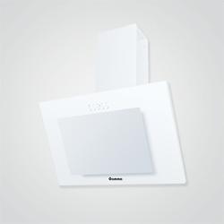 Okap kominowy Gamma Vario Slim biały 50 cm