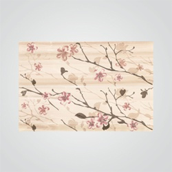 Dekor Flint Kwiat Jabłoni 2 x (25 x 75 cm)