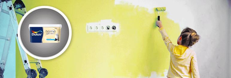 Farba Dulux Home cytrynowy deser 5 l