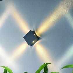 Kinkiet zewnętrzny Zem 4 x LED IP44
