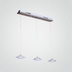 Lampa wisząca Ellipse 411 3 x 5 W LED chrom