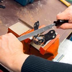 Pilnik zwężany MacAllister 200 mm drobny