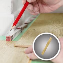 Deska podłogowa Dąb Lakierowany 20 x 140 x 1200 mm 0,84 m2