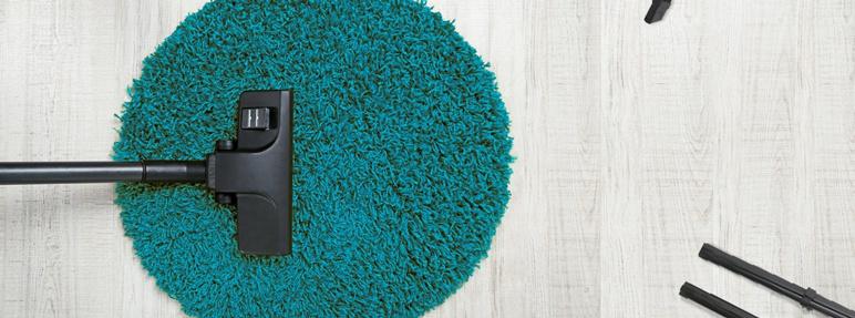 Dywan Rumba koło 67 cm turkusowy