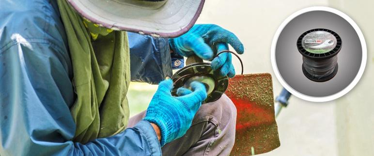 Żyłka tnąca wzmocniona 3,0 mm x 56 m okrągła