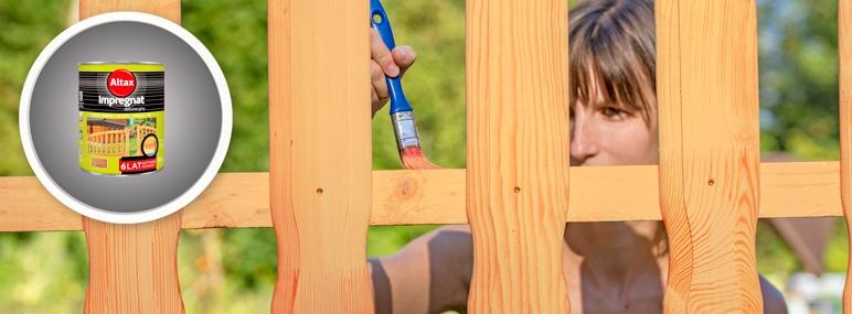 Impregnat do drewna Altax 6 lat kasztan 0,75 l
