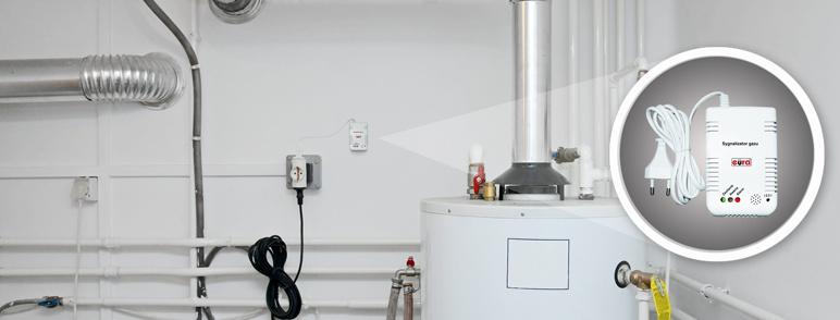 Sygnalizator gazu Eura GD-00A2 230 V