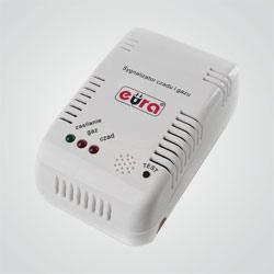 Sygnalizator czadu i gazu Eura CGD-31A2 230 V
