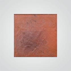 Stopnica klinkierowa prosta Paradyż Semir 30 x 30 cm beżowa
