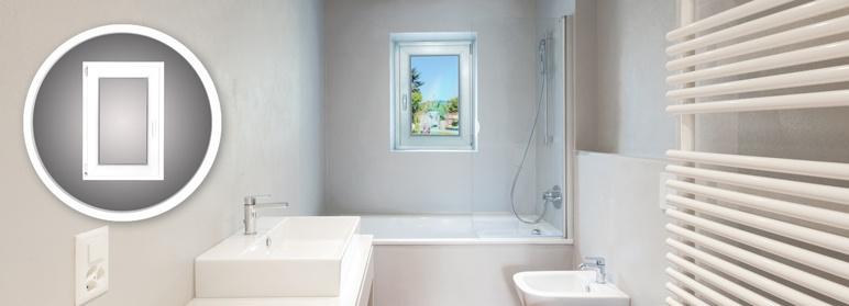 Okno PVC rozwierno - uchylne 565 x 835 mm lewe