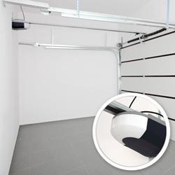 Brama garażowa segmentowa Splendoor 2500 x 2150 mm złoty dąb z napędem