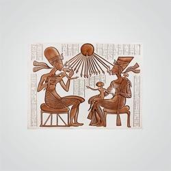 Płytka ścienna gipsowa Stegu Nefertiti 48 x 64 cm