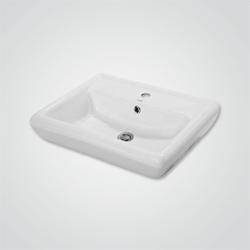 Umywalka ścienna ceramiczna Cersanit Iryda 60 cm