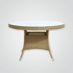Stół rattanowy Blooma Comoro 120 cm