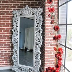 dekoracja ramy lustra