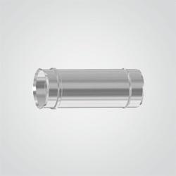 Rura jednościenna Spiroflex 0,5 m średnica 60 mm