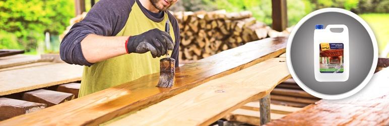 Lakier do drewna Hartzlack akryl połysk 5 l