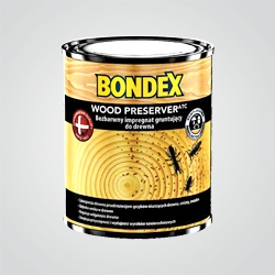 Impregnat gruntujący do drewna Bondex Wood Preserver 0,75 l