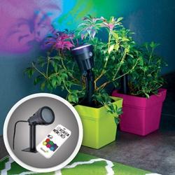 Lampa ogrodowa LED RGB Blooma Curie 5,5 W z pilotem