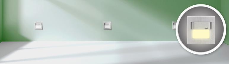 Oprawa LED Diall Tango aluminiowa barwa ciepła biała