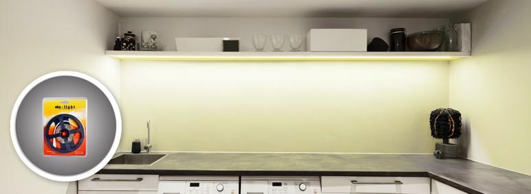 Taśma LED EK193 ciepła biała IP20 3 m 180 LED na metr