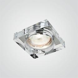 Oprawa oczkowa Diall 1 x 50 W MR16 szkło transparentne