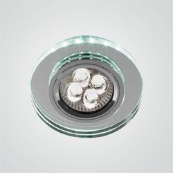 Oprawa oczkowa okrągła LED 1 x 50 W GU10 zielony