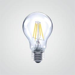 Żarówka LED Diall A60 4 W E27 470 lm przezroczysta barwa ciepła