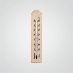 Termometr pokojowy Terdens 0204 drewniany