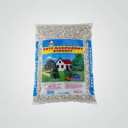 Grys marmurowy biały 10 - 16 mm 20 kg