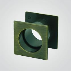 Tuleja wentylacyjna Gamet kwadratowa mosiądz antyczny