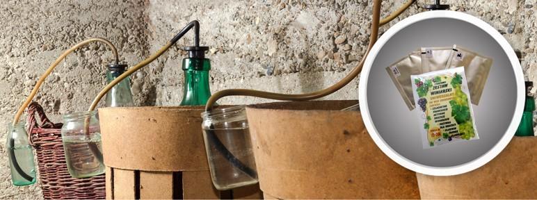 Zestaw startowy dla winiarzy Terdens