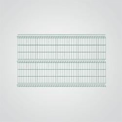 Panel ogrodzeniowy Betafence 3D 250 x 123 cm oczko 5 x 20 cm ocynk zielony