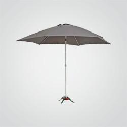 Parasol łamany Blooma Carambole 2,7 m szary