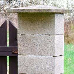 Bloczek betonowy Joniec 20 x 40 x 20 cm szary
