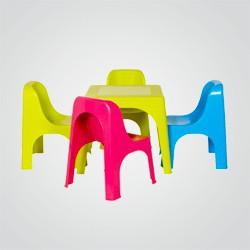 Krzesełko dziecięce Blooma różowe