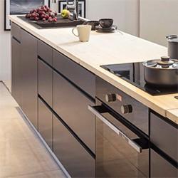 Szafka kuchenna dolna z 4 szufladami Unik DS-40/4 grafit matowy