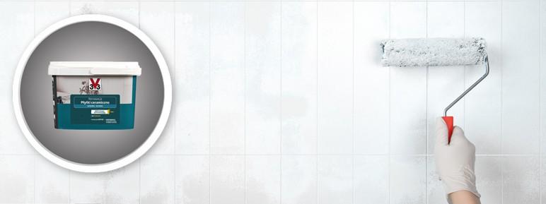 Farba renowacyjna V33 Płytki Ceramiczne 2 l biały pieprz
