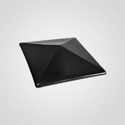 Czapa ogrodzeniowa klinkierowa Lode 44,5 x 44,5 cm grafit