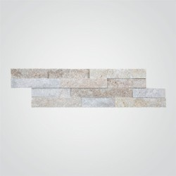 Kamień naturalny Quartz 10 x 35 cm brown 0,39 m2