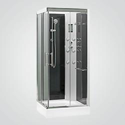 Kabina prysznicowa z hydromasażem Cooke&Lewis Aurea 90 x 90 x 218 cm