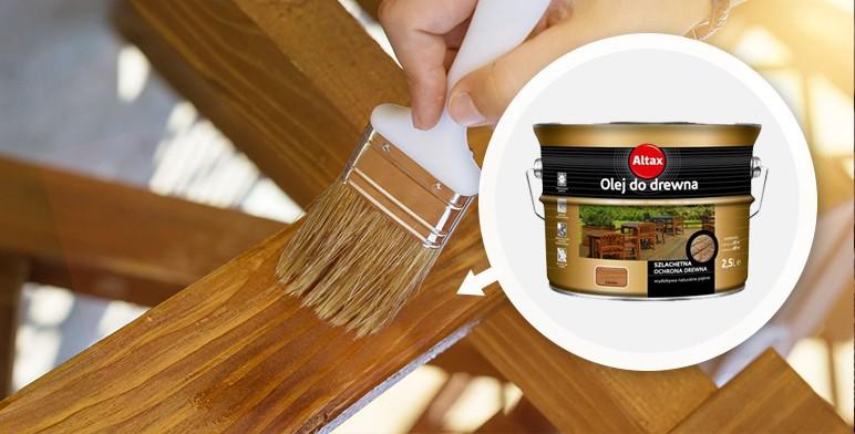 Olej do drewna Altax tik 2,5 l