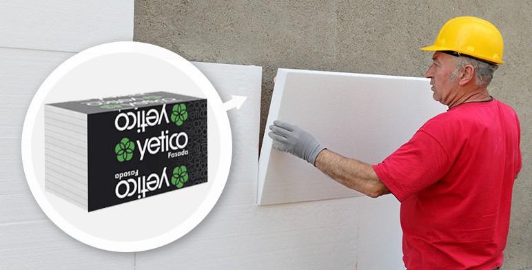 Styropian fasadowy Yetico Gamma 120 mm 0,3 m3 5 szt.