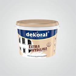 Farba fasadowa Dekoral Polinit biała wewnętrzna-zewnętrzna 3 l