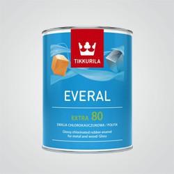 Emalia Tikkurila Everal Extra chlorokauczukowa A [80] 0,9 l