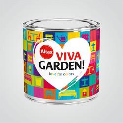 Emalia akrylowa Altax Viva Garden majowy barwinek 0,25 l