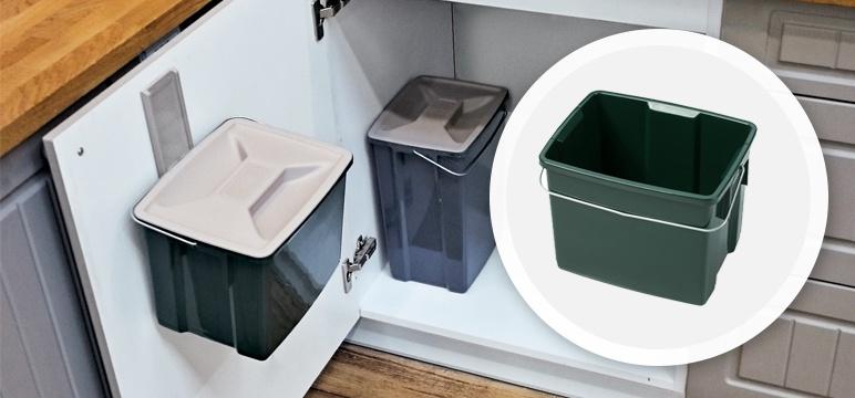 Pojemnik Curver Biobox 6 l zielony