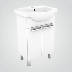 Zestaw szafka z umywalką Koło Freja 55 cm