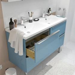 Szafka pod umywalkę Cooke&Lewis Imandra wisząca 120 cm niebieska